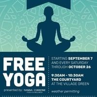 Free Yoga at King Farm