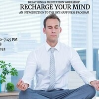Recharge Your Mind - Breathing & Meditation Workshop (Cancelled)