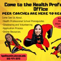 Health Professions Peer Coach Walk-Ins