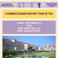 Feminist/ Queer History Tour of TCU