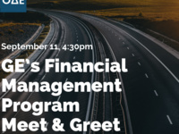 GE's Financial Management Program Meet & Greet