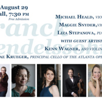 Faculty and Guest Concert: Music of Franck & Mendelssohn