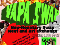 First Annual VAPA Non-Monetary Swap Meet & Art Exchange