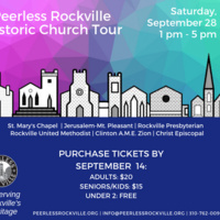 Peerless Rockville Historic Church Tour