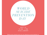 Wellness Week: World Suicide Prevention Day Tabling