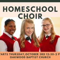 Homeschool Choir