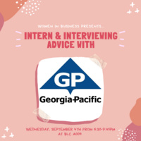 Women in Business General Meeting with Georgia Pacific