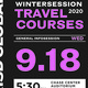 Wintersession travel courses | General Infosession