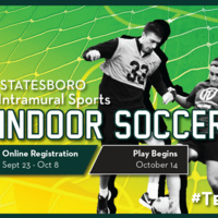 Indoor Soccer Registration - Statesboro