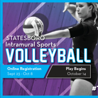 Indoor Volleyball Registration - Statesboro