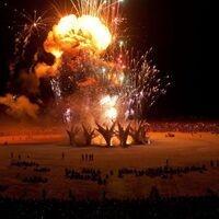 Burning Man Bonfire