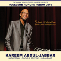 Fogelson Honors Forum 2019, Featuring Kareem Abdul-Jabbar