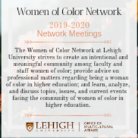 Canceled - Women of Color Network | Multicultural Affairs