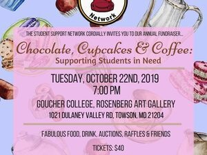Student Support Network Annual Fundraiser: Chocolate, Cupcakes, and Coffee