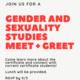 Gender & Sexuality Studies: Meet and Greet