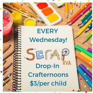 Wednesday Drop-in Kid's Crafternoons