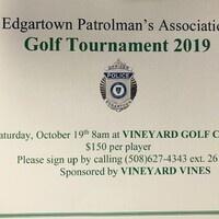 Edgartown Patrolman's Association Golf Tournament
