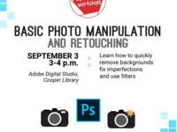 Basic Photo Manipulation and Retouching Workshop