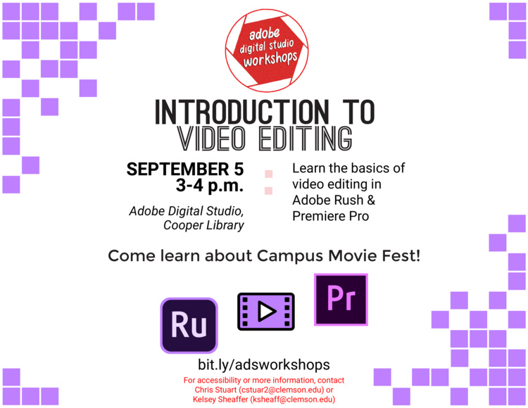 Introduction to Video Editing with Adobe Premiere Rush and Pro