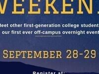 First Gen Weekend