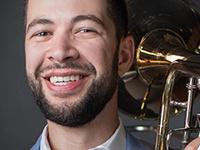 Brian Hecht, bass trombone