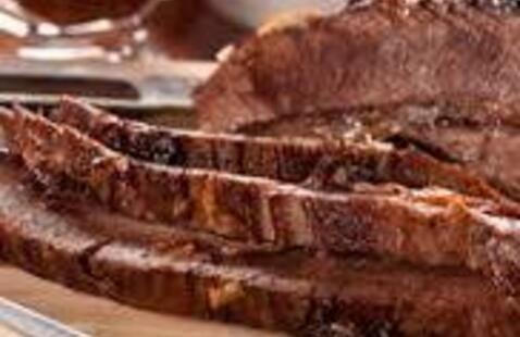 C-Cubed Luncheon - Braised Beef Brisket and Balsamic Braised Portobellos