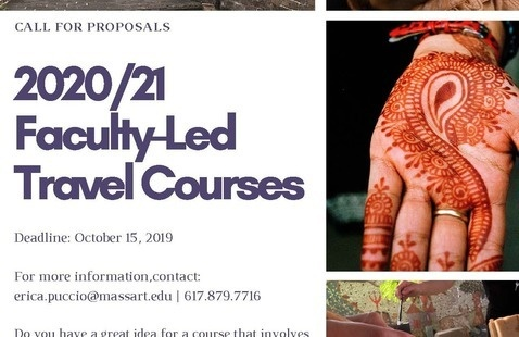 Proposal Deadline: 2020/21 Faculty-Led Travel Courses