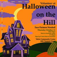 MAC Volunteer at Halloween on the Hill