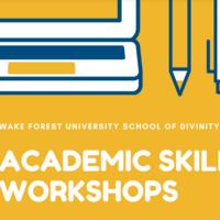 Academic Skills Workshop: Writing an Exegesis Paper