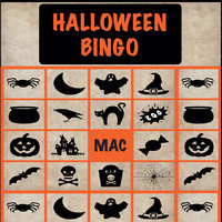 MAC Halloween Bingo