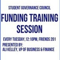 SGC Funding Training Session