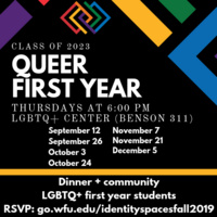 Queer First Year: Class of 2023