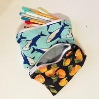 Hand Sewn Zipper Pouches - Workshop
