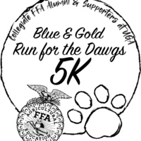 Blue & Gold Run for the Dawgs 5K Race