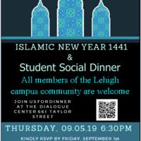 Student Social Dinner  & Islamic New Year 1441   Chaplain's Office