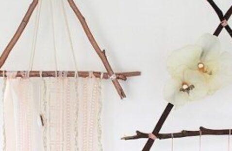 Triangle Twig Dreamcatcher
