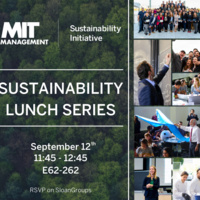Sustainability Lunch Series: Kickoff