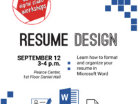 Basic Resume Design Workshop