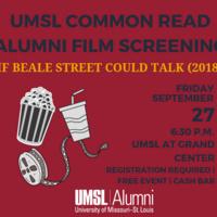 UMSL Common Read - Alumni Movie Viewing