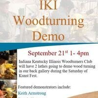 IKI Woodturning Demo