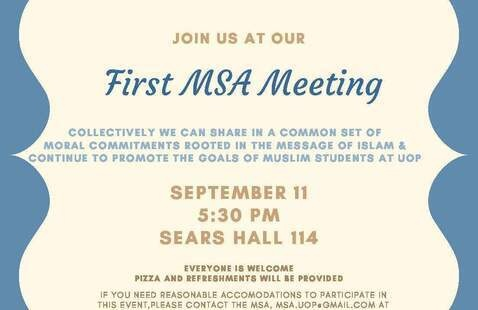 Muslim Student Association Meeting