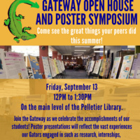 Gateway Open House and Poster Symposium