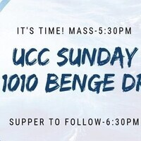 UCC—Mass and Dinner