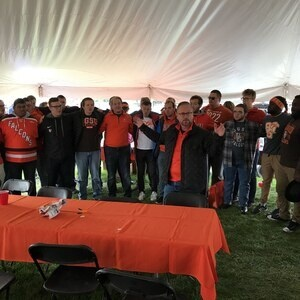 Homecoming Tailgate Tent hosted by the College of Musical Arts