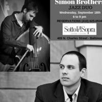 JAZZ WEDNESDAYS - SIMON BROTHERS JAZZ DUO