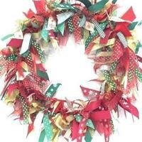 Adult Craft Time: Holiday Ribbon Wreaths