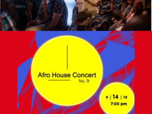 Join us for Afro House Concert No. 9