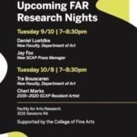 FAR Research Night: Daniel Luedtke & Jay Fox