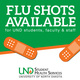 2019 Flu Shot Clinics on Campus