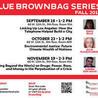 GLUE Brownbag Series with Emily Bills
